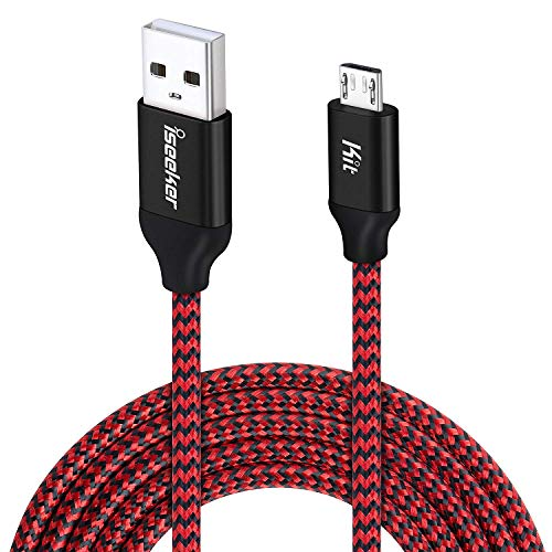 android-charging-cable-15ft-ps4-controller-charger-cable-iseekerkit-durable-micro-usb-2-0-charging-cord-wire-compatible-for-samsung-galaxy-s7-edge-s6-note5sonylgmotohtcsmartphones-red