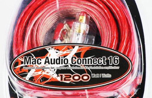 Mac Audio Connect 16-16 mm versterker-installatieset