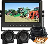 Veise 9' Rear View Back up Reverse Side Camera Cab Video System for Forklift Excavator Agriculture Tractor
