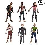LUOEM 6PCS Walking Dead Zombie Dolls modelos estáticos figuras...