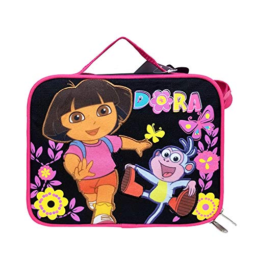 Dora the Explorer Lunch Bag Butterfly Black New Case Girls Gifts Licensed a02048