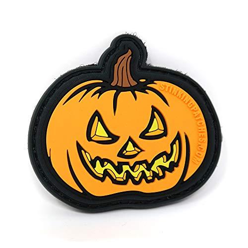 Jack o' Lantern Pumpkin Tactical Patch | Halloween Morale Patch