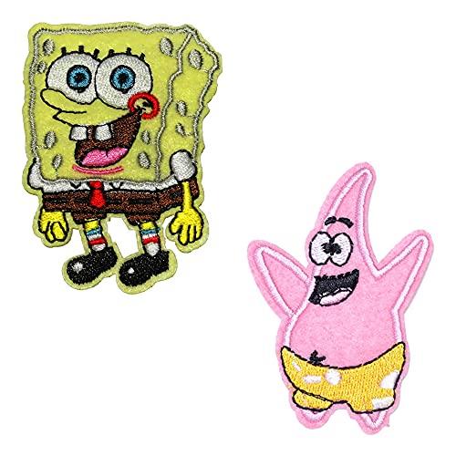 Sgucci Spongebob Squarepants Patrick Star Embroidery Patch...