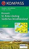 Husum, Sankt Peter-Ording: 1:50.000, Wandern/Rad, GPS-genau - KOMPASS-Karten GmbH