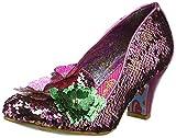 Irregular Choice Damen Cariad Geschlossene Zehen-Pumps, Multicolor Pink a, 43 EU