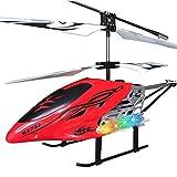 Redcolourful Hélicoptère de RC de Grande Taille d'alliage de la Manche 3 avec Les Avions résistants de Gyro de lumières comme Cadeau pour des Enfants for Toys Gifts
