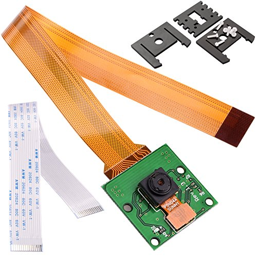 Kuman SC09 Module de Raspberry pi camera 5MP 1080P OV5647 capteur pour Raspberry Pi ZERO 3 2 model B B+ A+