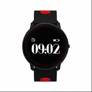 Pulsera Actividad,smart watch reloj con Perseguidor de la aptitud Monitor de Ritmo Cardíaco y Sueño Monitor Cardio Notificación de mensajes llamada Telefónica Compatible con Android y iPhone iOS