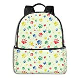Cachorros Padrao Fundo Mountain Bicycle Laptop Backpack Fashion Theme School Backpack