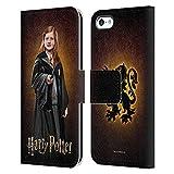 Head Case Designs Ufficiale Harry Potter Ginny Weasley Chamber of Secrets IV Cover in Pelle a Portafoglio Compatibile con Apple iPhone 5c