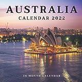 Australia Calendar 2022: Monthly Square Calendar 2022-2023, 16 Month Calendar, Home And Office Calendar Great Gift For Australia Lovers Women And Men