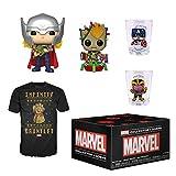 Funko Marvel Collector Corps Caja de suscripción, Marvel Holiday Theme, Noviembre 2019, Camiseta mediana