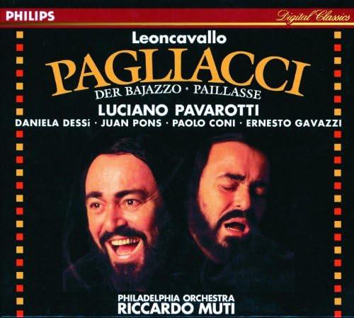 Luciano Pavarotti, Daniela Dessì, Juan Pons, Paolo Coni, Ernesto Gavazzi, The Philadelphia Orchestra & Riccardo Muti