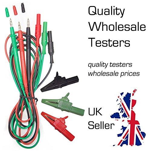 AMECaL tl-115-s-c Juego cables–cables prueba
