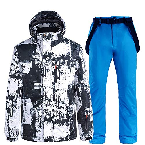 Ropa de esquí -30 hombres y mujeres nuevos conjuntos de trajes de nieve ropa de...