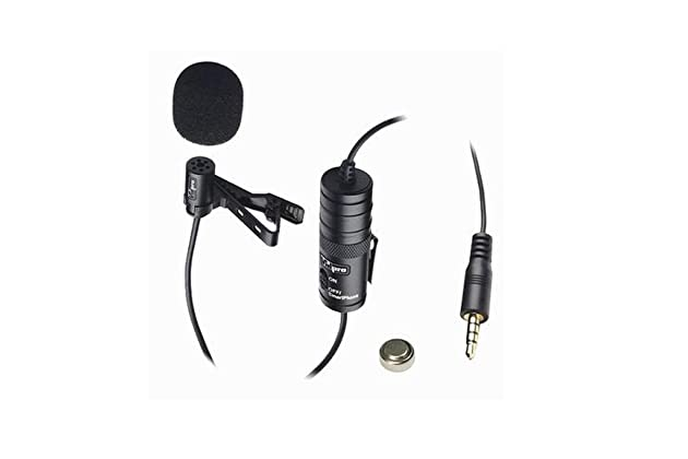 812df0ae7 Vidpro XM-L Lavalier Condenser Microphone for DSLRs