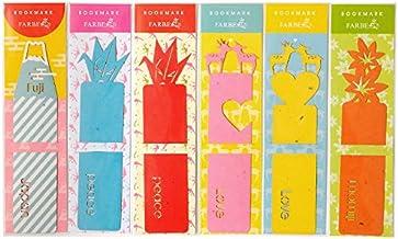 ファルベ ブックマーク/BOOKMARK 折り鶴+富士山+鹿+紅葉 4デザインセット(しおり6枚セット)