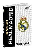 Quo Vadis Real Madrid - Agenda escolar (agosto de 2020 a julio de 2021 a 12 x 17 cm)