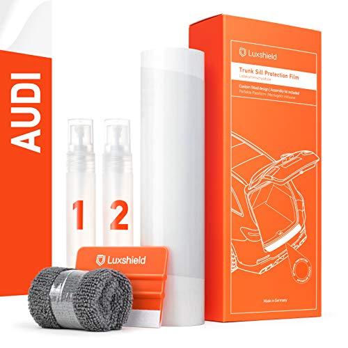 Luxshield Ladekantenschutz Folie Komplettset - A4 Avant B9 8W I 2015-2020 - Stoßstangenschutz, Kratzschutz, Lackschutzfolie - Transparent glänzend Selbstklebend
