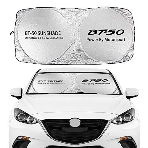 Visera parasol del Parabrisas Parabrisas de coches de verano cubiertas de sombrilla de sol sombra de sol compacta visera de flodiscos para Mazda ATENZA AXELA BIANTE BIANTE BT-50 AUTO AUTO Accesorios P