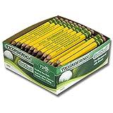 Ticonderoga DIX13472 Golf Pencil, Yellow (72 Count)
