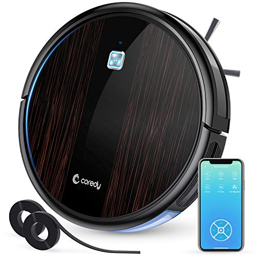 Find Bargain Coredy Upgraded R3500S Robot Vacuum Cleaner, 1700Pa Suction, Compatible with Wi-Fi Alex...