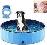 PVC Pet Piscina pieghevole portatile Pool Cani Gatti che bagnano vasca da bagno vasca di lavaggio Acqua Stagno Animali domestici piscina for bambini Piscine for i bambini in giardino con gatto / cane