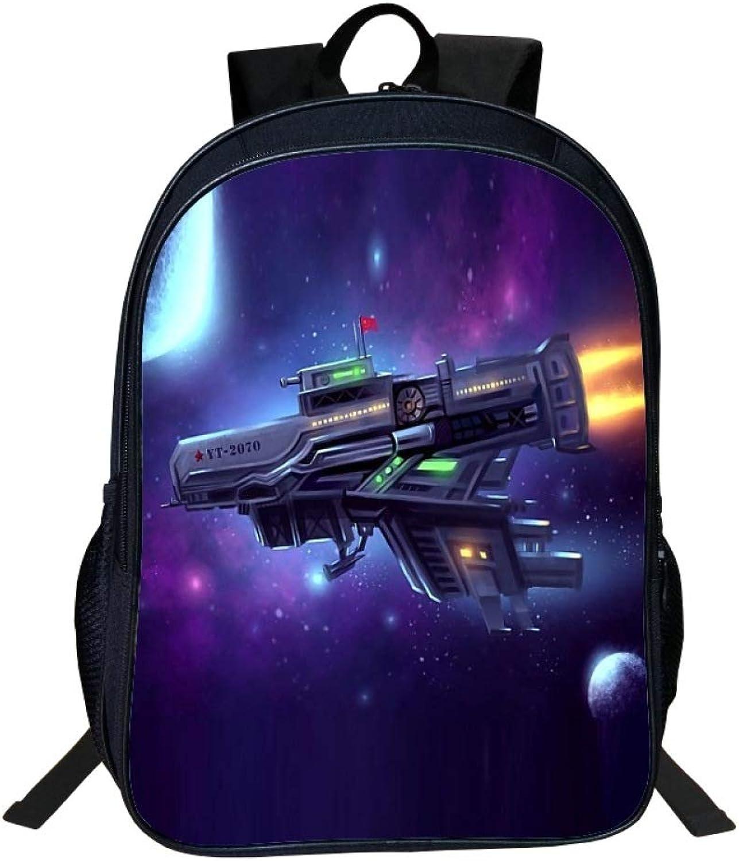 JKAINI Kinderrucksack 3D Fighter Printing Schultasche Rucksack,A-OneGröße B07MZ2S7MV  | Bekannt für seine gute Qualität