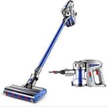 Vacuum Cleaner, 19000 Pa Cordless Vacuum Cleaner, 180w Rating Power Handheld Stick Vacuums with High Suction, Wall-Mounted...