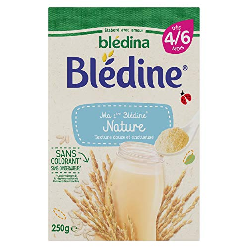Blédina Ma 1ère Blédine Nature dès 4/6 mois 250 g - Pack de 7