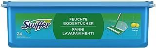 Swiffer Bodenwischer Feuchte Bodentücher Nachfüllpack mit frischem Zitrusduft 24 St.,..