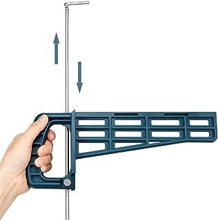 asx Kit de quincaillerie pour porte de grange - Magnétique - Outil de montage pour armoire et tiroir - Guide d'installatio...