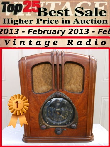 Top25 Best Sale - Higher Price in Auction - February 2013 - Radio (Top25 Best Sale Higher Price in Auction Book 33) (English Edition)