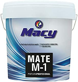 Pintura Plastica Mate Lavable Color Blanco Antimoho para