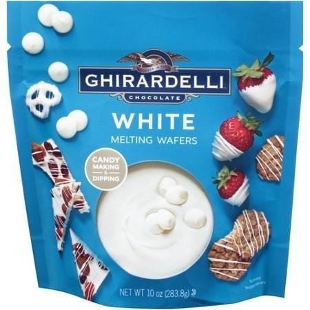 Ghirardelli, Candy Making & Dipping, White Melting Wafers, 10oz Bag