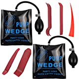 NID Car Air Wedge Bag Kit - Commercial Grade Leveling Kit & Alignment Tool Inflatable Shim Pump Wedge with 4pcs Auto Trim Removal Tool. 300LB Rating