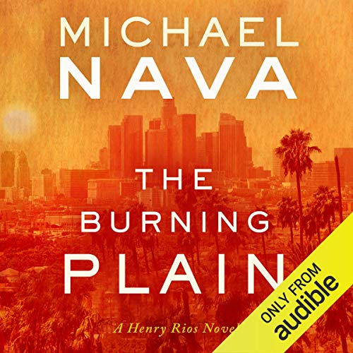 The Burning Plain audiobook cover art