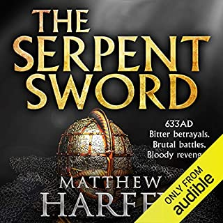 The Serpent Sword     The Bernicia Chronicles, Book 1              By:                                                                                                                                 Matthew Harffy                               Narrated by:                                                                                                                                 Barnaby Edwards                      Length: 12 hrs and 9 mins     186 ratings     Overall 4.4