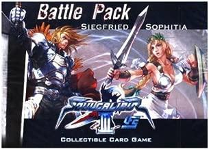 Universal Fighting System (UFS) Card Game Soul Calibur III Battle Pack Siegfried Vs. Sophitia