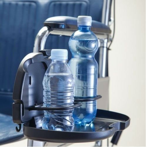 Wheelchair Double Cup Holder and Tray - UK Care Direct