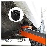 YSNUK Soporte de elevación de automóviles Pads de Goma Discurso Disco hidráulico Soporte de Caucho Negro Pavimento de Almohadilla de Almohadilla de Almohadilla