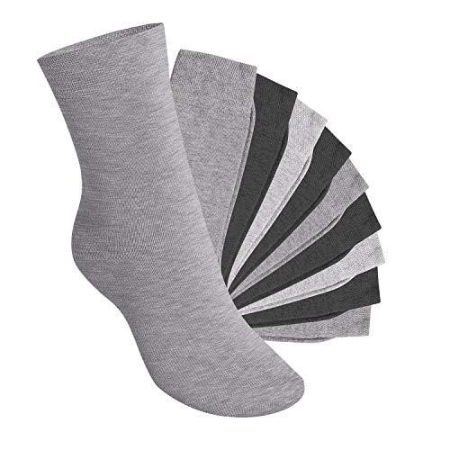 Footstar Kinder Socken (10 Paar) - Everyday! - Classic Grey 31-34