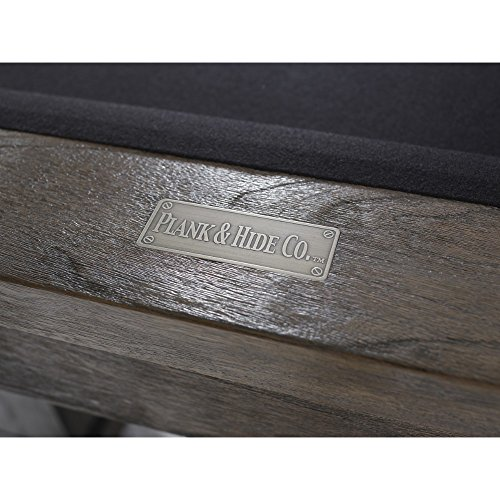Best Price Plank and Hide Entertainment Table – Morse Billiard Pool Table – 8' Tabletop Billia...