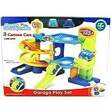 Speelgoed S269/C281 Garage - Juego de Mesa con 3 Coches