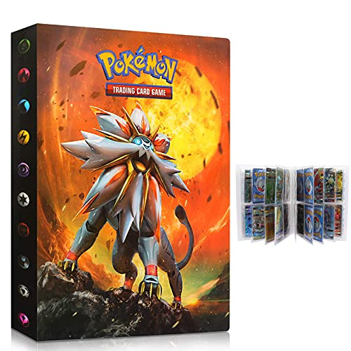 UHIPPO pokemon cards holder, Pokemon card Album, Pokemon binder for cards...