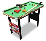 Chad Valley 3 m Queue de billard/snooker Table Jeu.