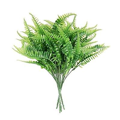 Artificial Boston Fern Plants Bush Outdoor UV R...