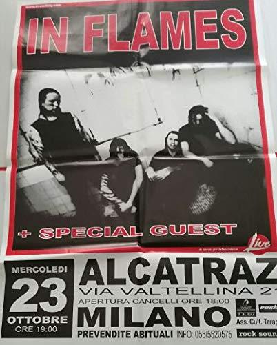 In Flames Milano Alcatraz 23/10 Poster