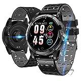 Smartwatch Smart Armband blutdruck uhr mit herzfrequenz wasserdicht Fitness Tracker aktivitätstracker gps bluetooth Sports Watch Schlafmonitor schrittzähler smart armband uhr für iOS...
