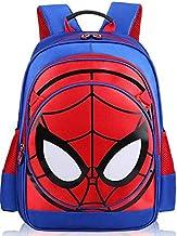 حقيبة ظهر مدرسية لطيفة مقاومة للماء برسم سبايدر مان ثلاثي الابعاد للاولاد والاطفال. حقائب بشخصيات كرتونية  -xx، الفتيان